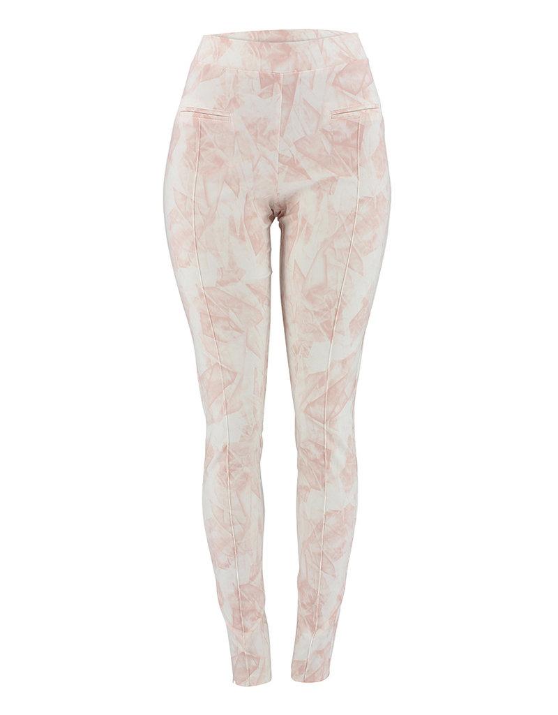 Ravel Rose Geometric Pants Small