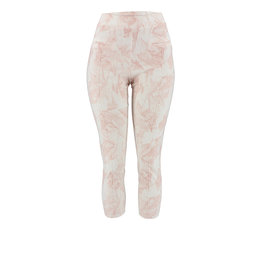 Ravel Rose Geometric Pants Capris Small