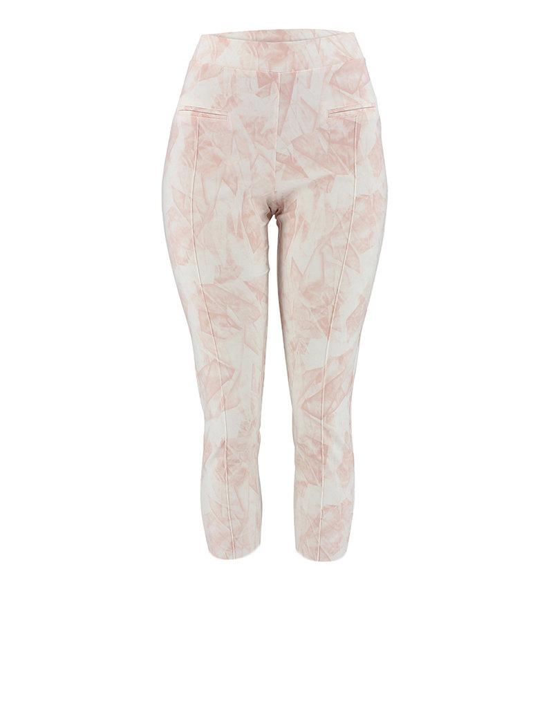 Ravel Rose Geometric Pants Capris Small