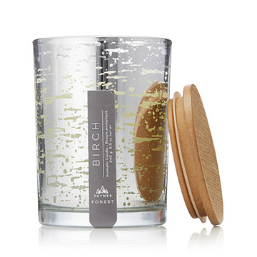 Thymes Birch Poured Candle