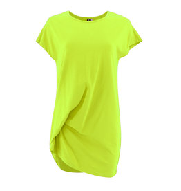 Ravel Long Twisted Tee Lime Large