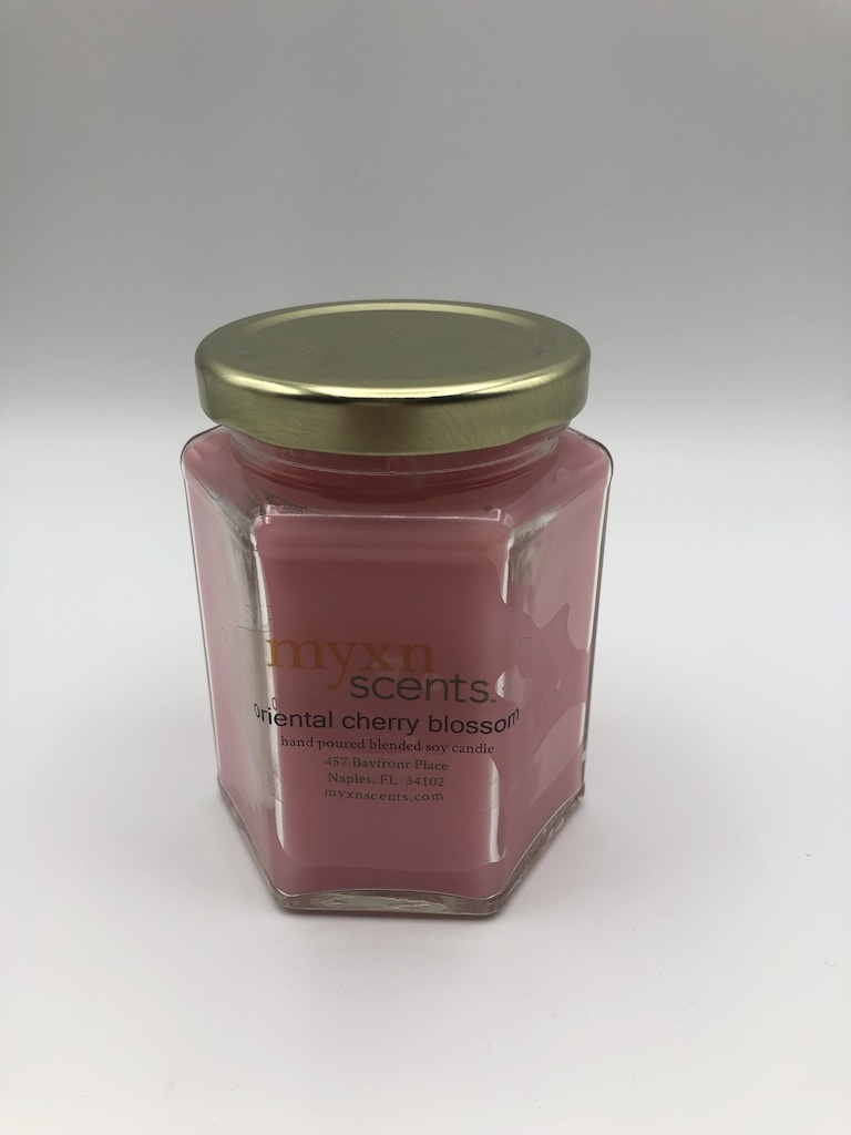 Just Makes Scents Hand Poured Candle Oriental Cherry Blossom