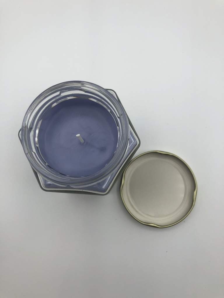 Just Makes Scents Hand Poured Candle Lemon Lavender