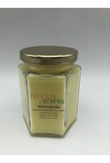 Just Makes Scents Hand Poured Candle Lemongrass
