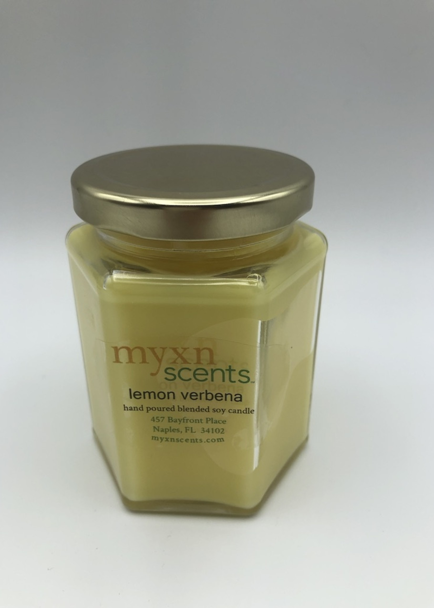 Just Makes Scents Hand Poured Candle Lemon Verbena