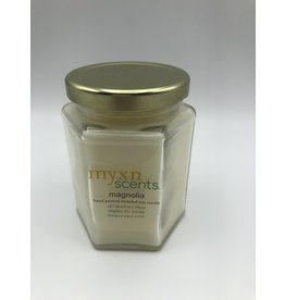 Just Makes Scents Hand Poured Candle Magnolia