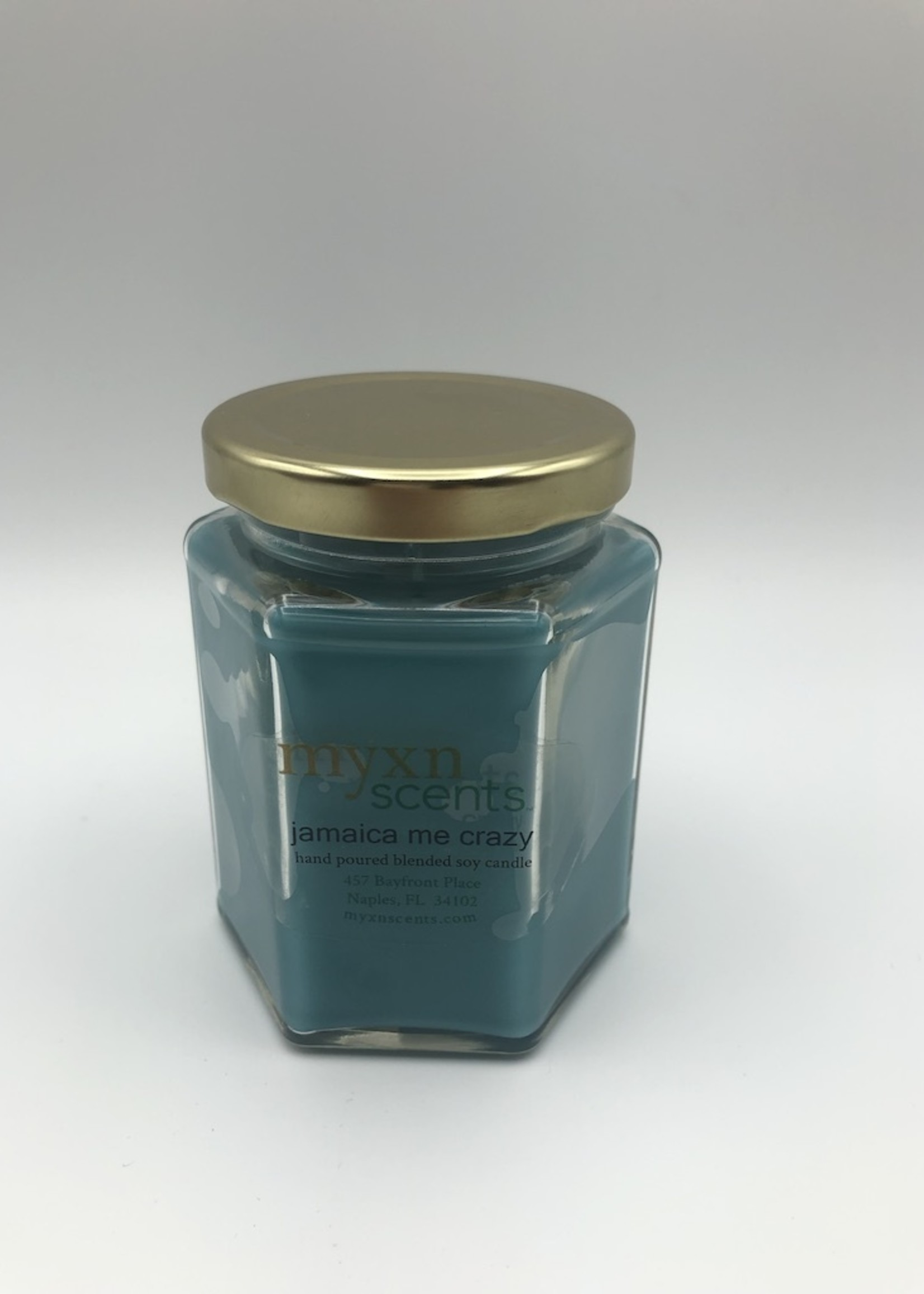 Just Makes Scents Hand Poured Candle Jamaica Me Crazy