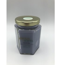 Just Makes Scents Hand Poured Candle Lavender