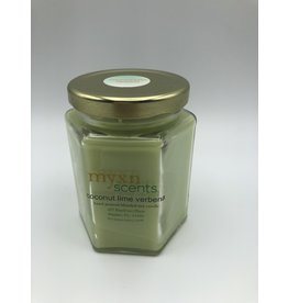 Myxn Scents Hand Poured Candle Coconut Lime Verbena