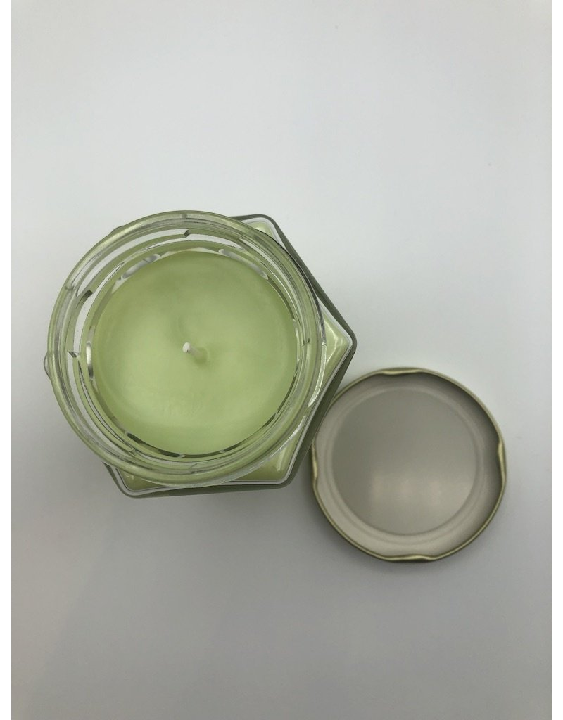 Just Makes Scents Hand Poured Candle Coconut Lime Verbena
