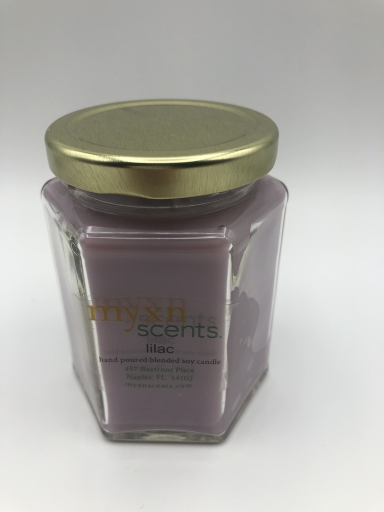 Just Makes Scents Hand Poured Candle Lilac