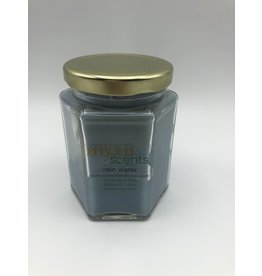 Myxn Scents Hand Poured Candle Rain Water