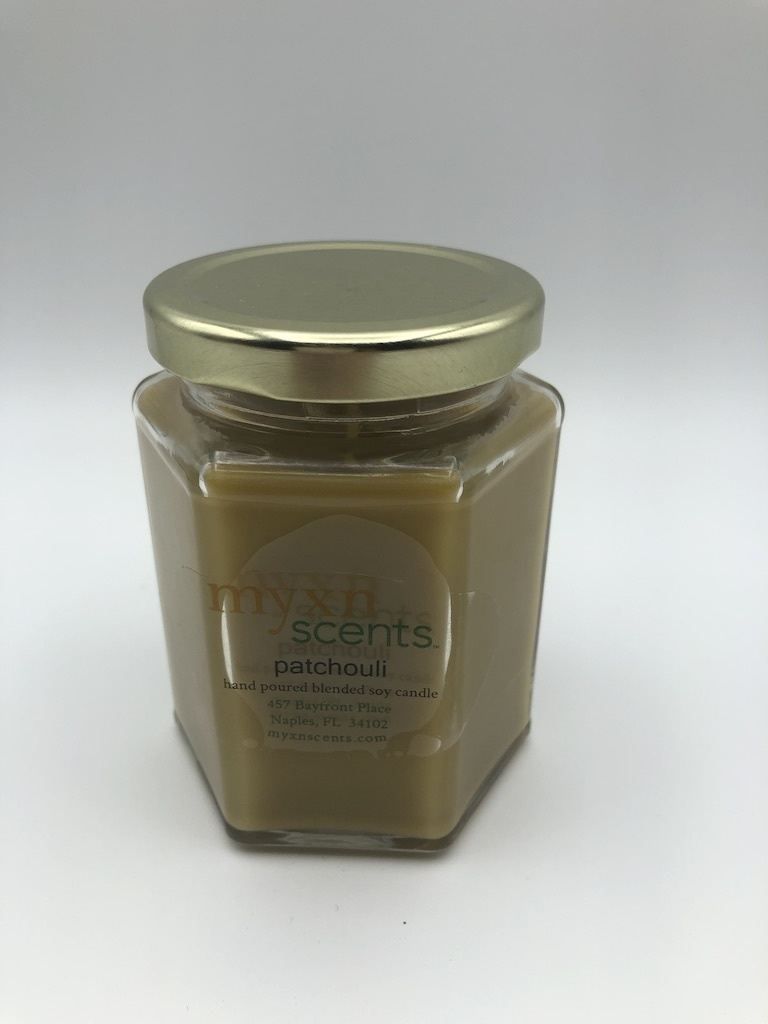 Just Makes Scents Hand Poured Candle Patchouli