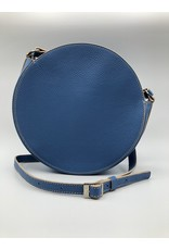 BogaBag Small Blue Circle Crossbody Bag