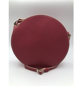 BogaBag Small Pink Circle Crossbody Bag