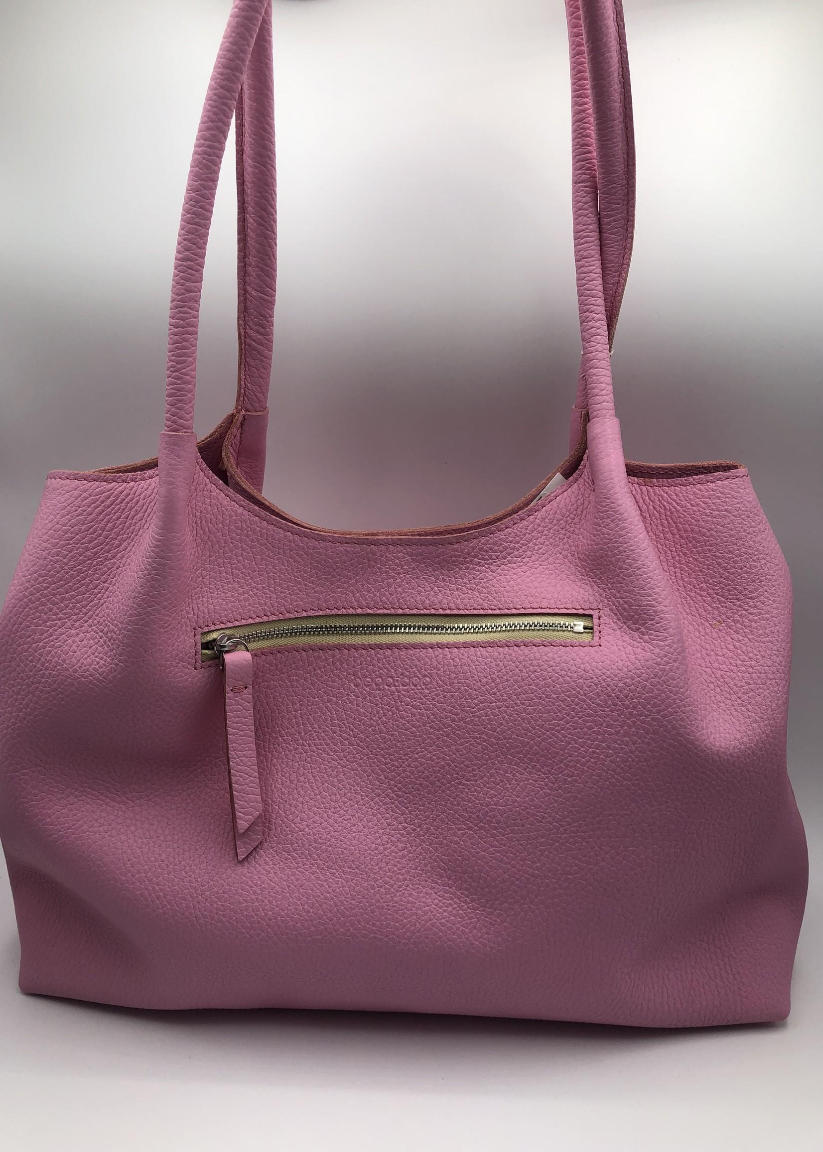 BogaBag Light Pink Shoulder Tote Bag