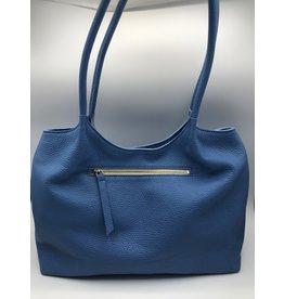 BogaBag Blue Shoulder Tote Bag
