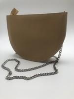 BogaBag Natural Half Circle Crossbody Bag