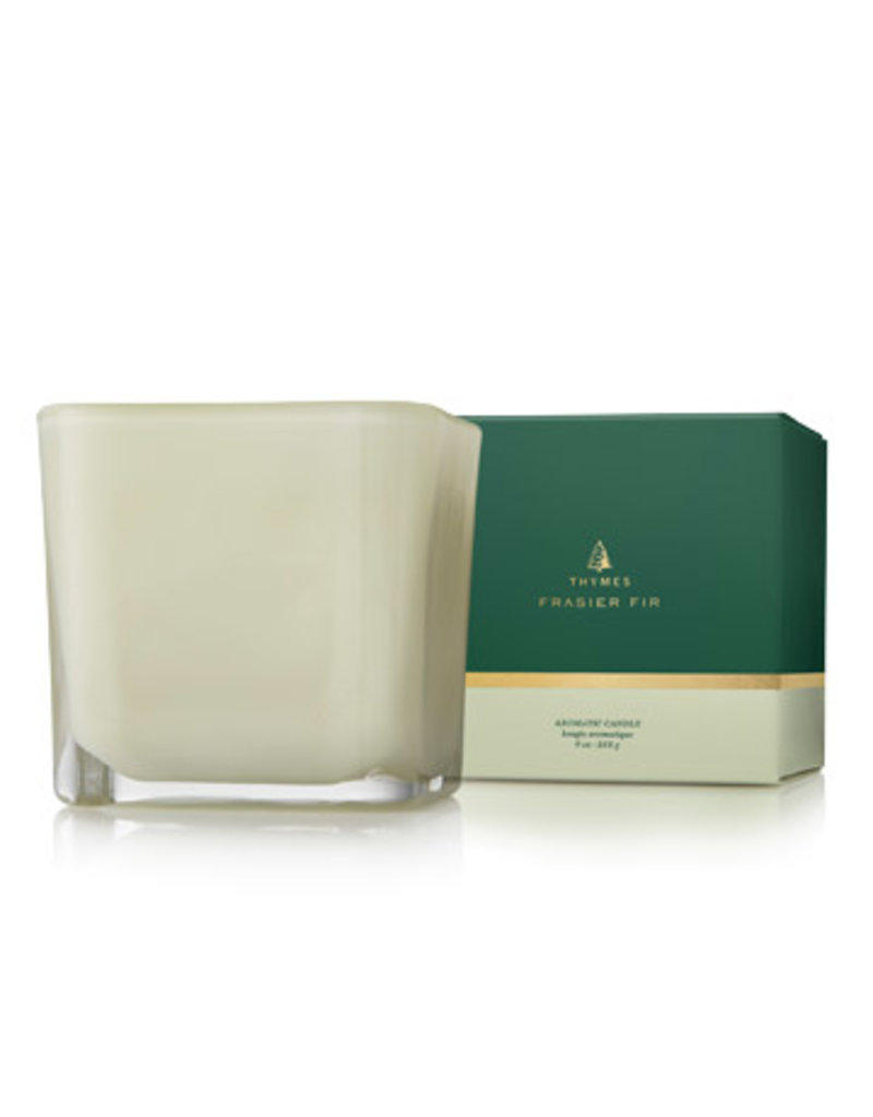 Thymes Frasier Fir Grand Noble Medium Poured Candle Sage