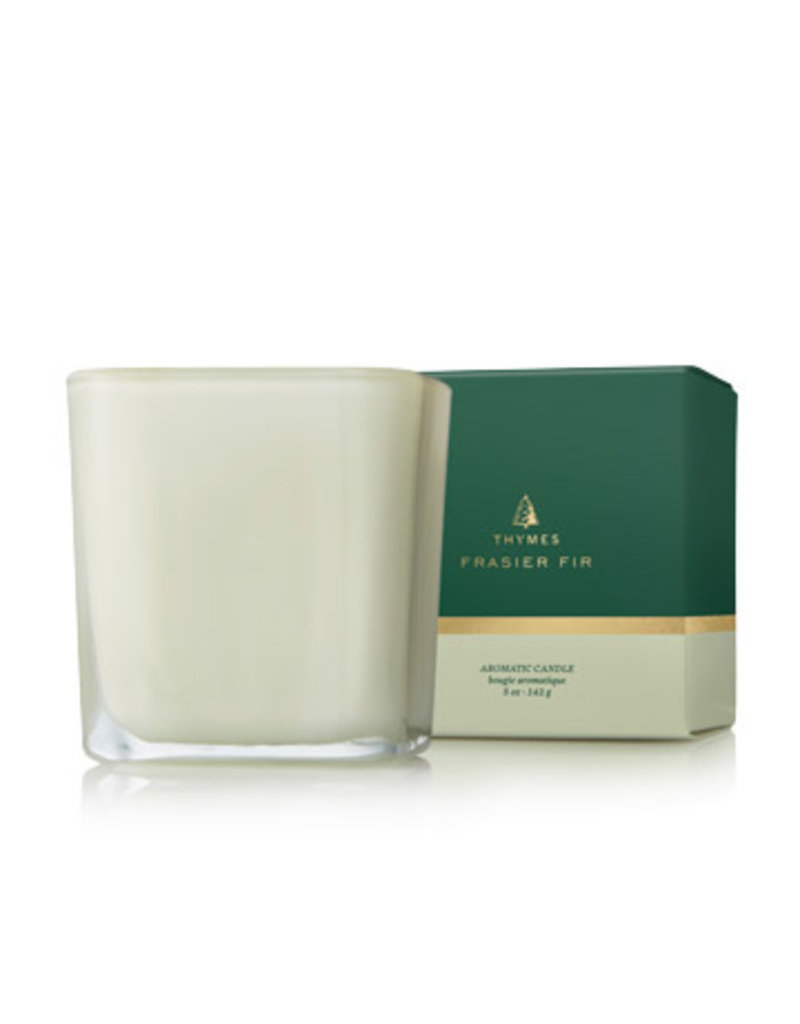 Thymes Frasier Fir Grand Noble Small Poured Candle Sage