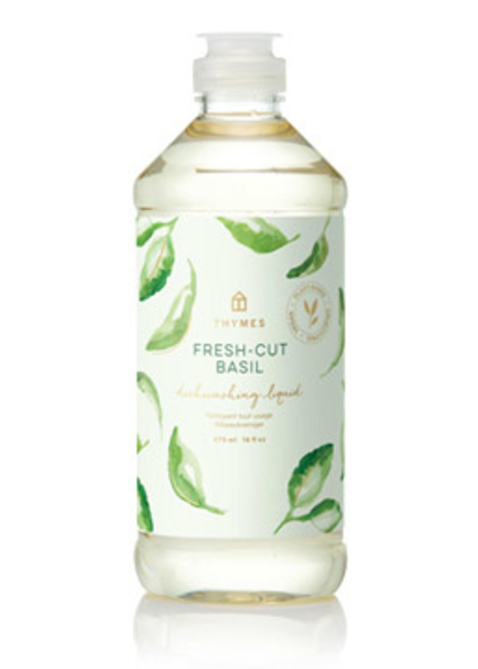 Thymes Fresh-Cut Basil Dishwashing Liquid