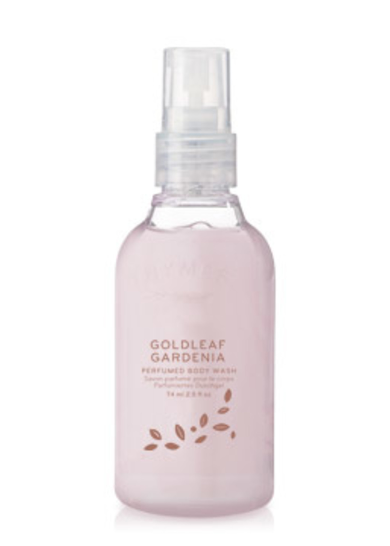 Thymes Goldleaf Gardenia Petite Body Wash