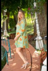 Essential Tunic Dress - Botanical Garden - SM/MED
