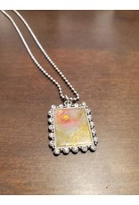 Cecile of Naples Pendant Necklace by Sparkly Heart Studio