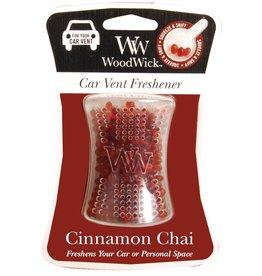 Virginia Gift Brands WoodWick Cinnamon Chai Car Vent