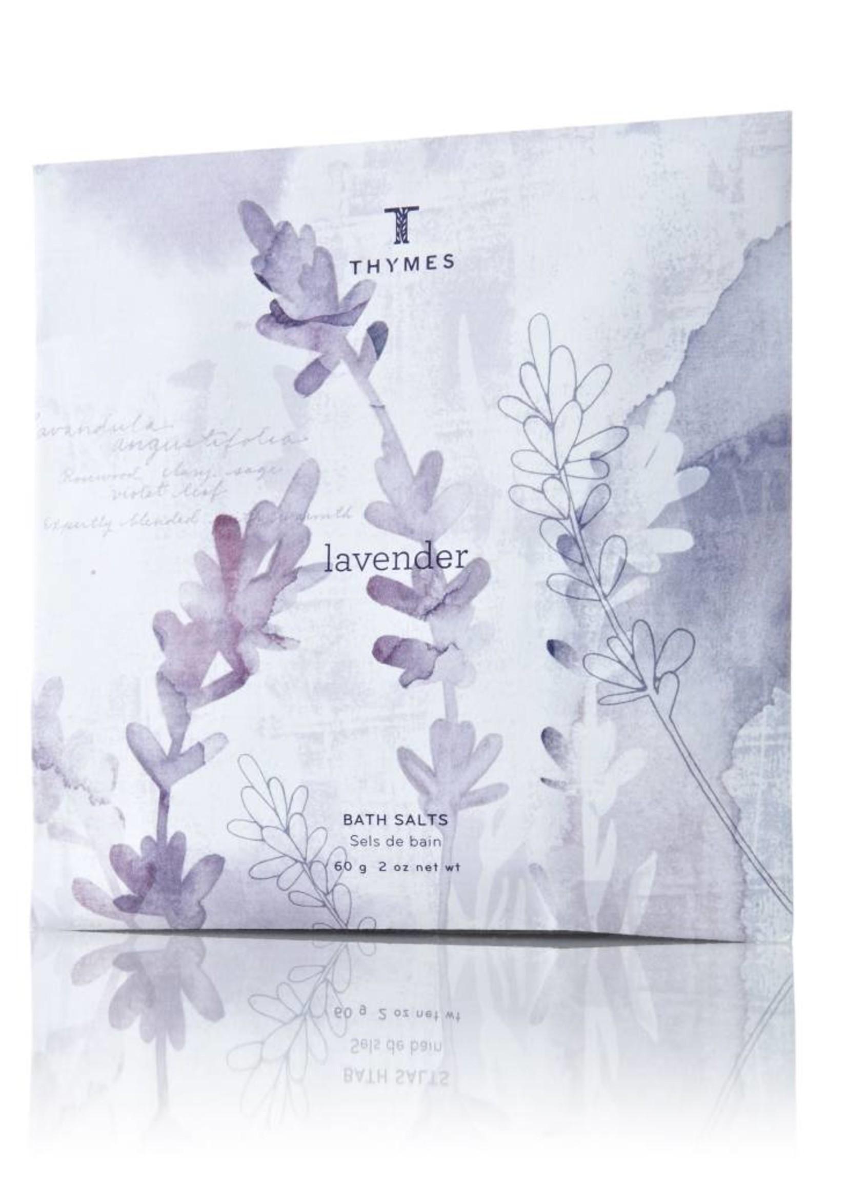 Thymes Lavender Bath Salts Envelope