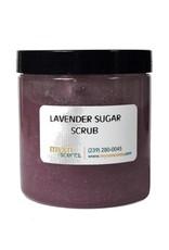 Lavender Organic Sugar Scrub 8 oz