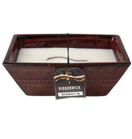 Virginia Gift Brands Ribbonwick Medium Rectangle Sandalwood Fig
