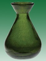 Dark Green Teardrop 5oz