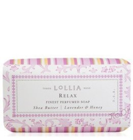 Lollia Relax Boxed Soap