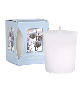 Bridgewater Candle Co White Cotton Votive