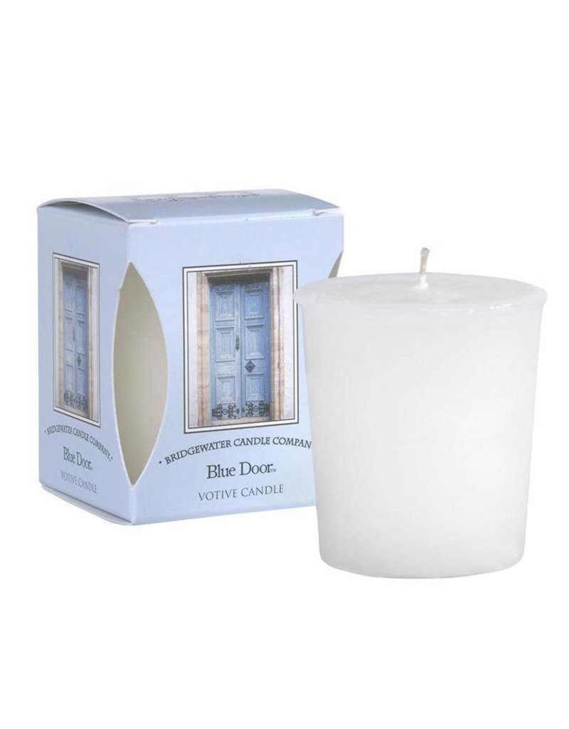 Bridgewater Candle Co Blue Door Votive