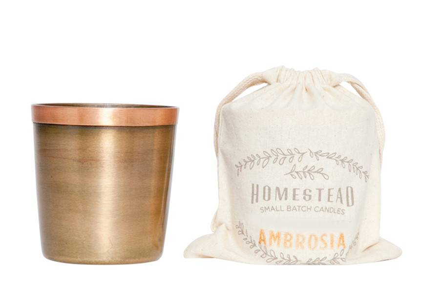 Aspen Bay Candles Cup in Cotton Bag-Ambrosia 8oz