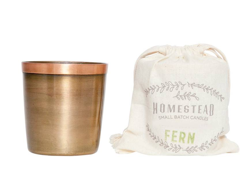Aspen Bay Candles Cup in Cotton Bag-Fern 8oz