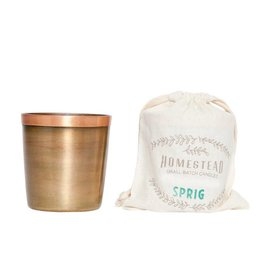 Aspen Bay Candles Cup in Cotton Bag-Sprig  8oz