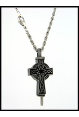 Pewter Celtic Cross Diffuser Pendant