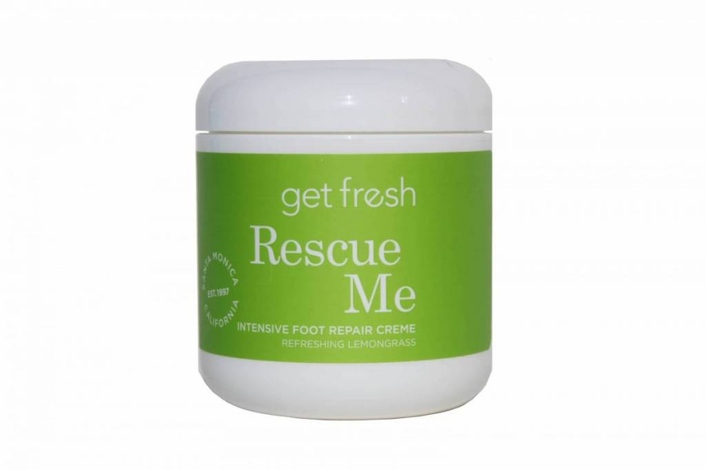 Get Fresh Rescue Me 6oz Lemongrass Foot Repair Creme