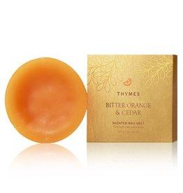 Thymes Bitter Orange & Cedar Scented Wax Melt