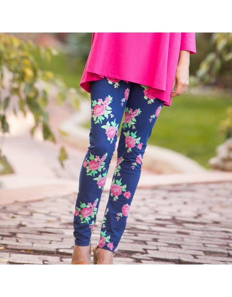 Go2 Legging Rosy Blues LG