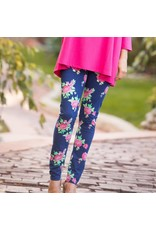 Go2 Legging Rosy Blues Med