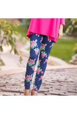 Go2 Legging Rosy Blues Med