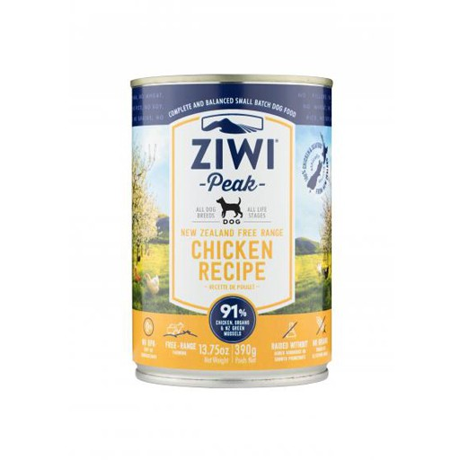 ZiwiPeak ZiwiPeak Daily Cusine Dog Can Chicken 390g