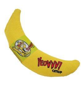 Yeowww Banana Singles Catnip Toy
