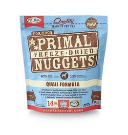 Primal Freeze Dried Canine Quail 14oz