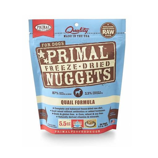 Primal Freeze Dried Canine Quail 5.5oz