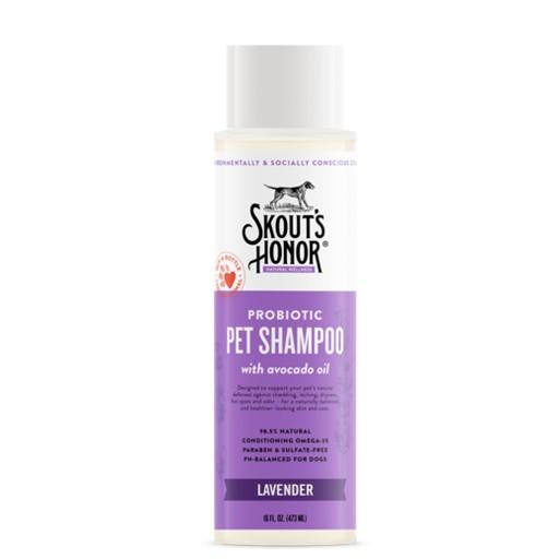 Skout's Honor Skout's Honor Probiotic Pet Shampoo Lavender 16oz
